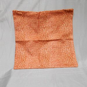 Other - New orangish brown 15.5 square pillow cover